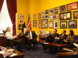 Rep. Wexler Meeting with PES in his Congressional Office