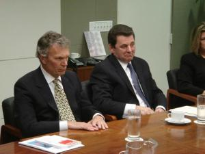 Tom Daschle Meeting with PES Delegation April 2007