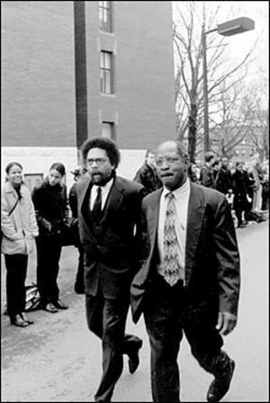 Cornel West and Charles Ogletree