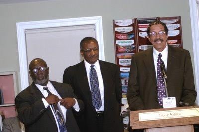 Former Black Panthers members Bowman, Jones, Boudreaux