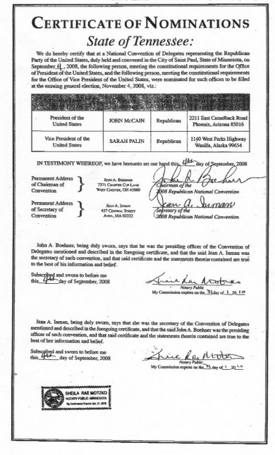 2008 RNC Document