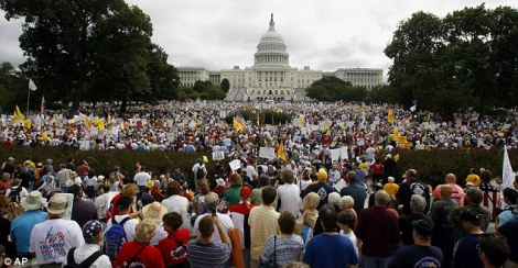 Teaparty Washington,D.C. 9-12-09