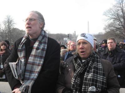 Robert Bauer and Anita Dunn (Husband and wife)