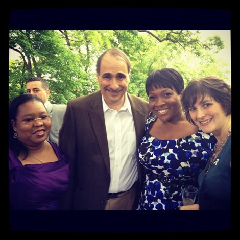 Jehmu Greene Axelrod and Sandra Fluke