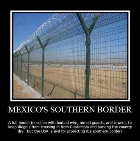 Mexico's southern border