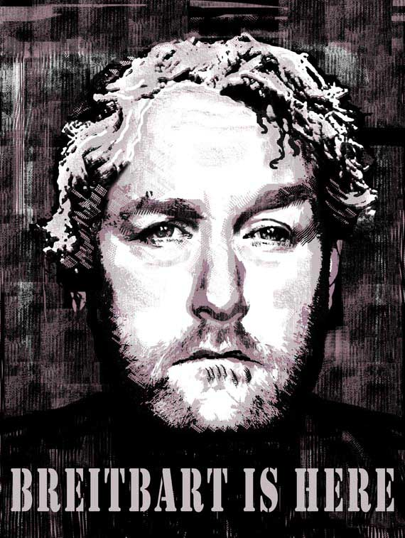 Breitbart is here poster