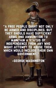 Washington on armed citizens
