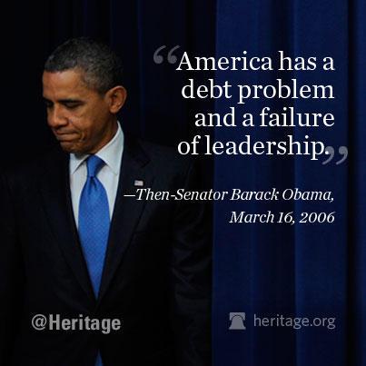 obama sen. debt problems