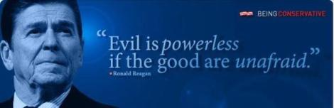 Reagan Evil vs. good