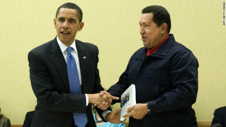 Obama Hugo Chavez pic