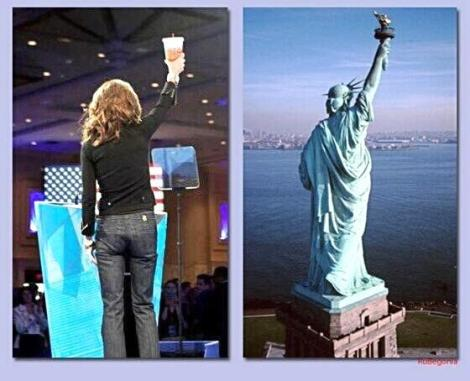 Sarah Palin Statue of Liberty