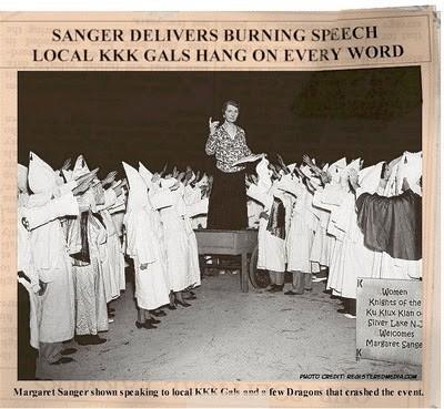 Margaret Sanger KKK