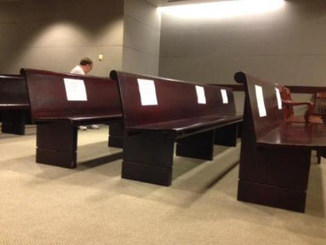 Media reservation for Gosnell Trial