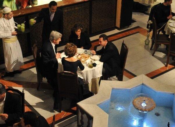 kerry-assad-dinner