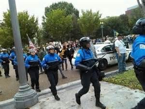 riot police vets
