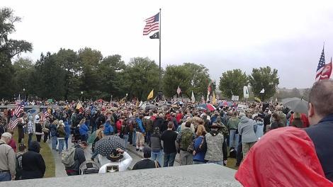 VET march WWII memorial