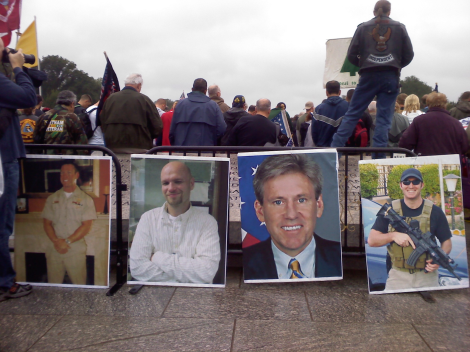 Vets DC pics of 4 men Benghazi